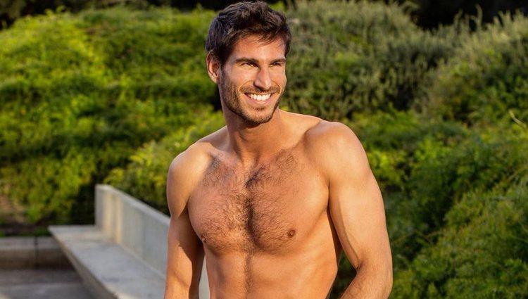Cesc Escolà, profesor de fitness en 'OT 2020', sin camiseta