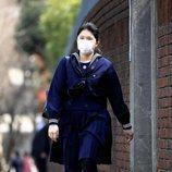 Aiko de Japón con mascarilla en su graduación por el coronavirus
