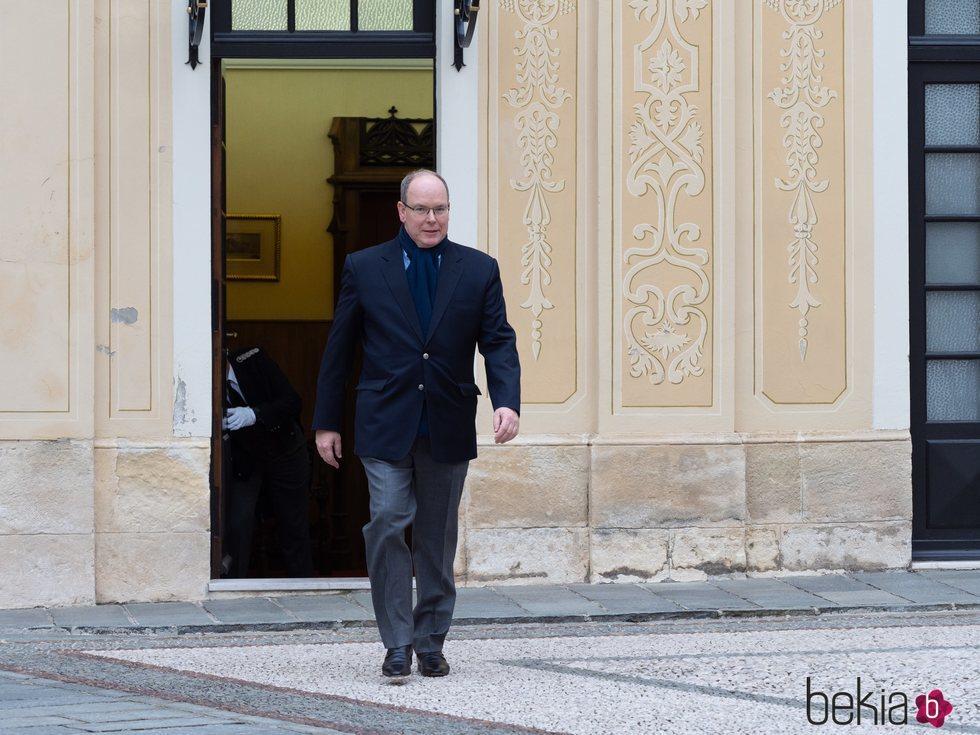 El Príncipe Alberto de Mónaco, muy feliz tras superar el coronavirus