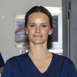 La Princesa Sofia de Suecia empieza su voluntariado en un hospital