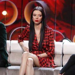 Alejandra Rubio durante un debate de 'La isla de las tentaciones'