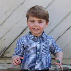 El Príncipe Luis con motivo de su segundo cumpleaños