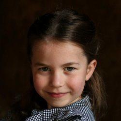 La Princesa Carlota en su quinto cumpleaños
