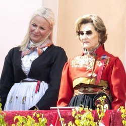 La Reina Sonia y la Princesa Mette-Marit el Día Nacional 2020