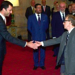 El Rey Felipe y Woody Allen
