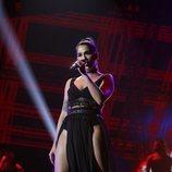 Anaju durante su actuación en la gala 10 de 'OT 2020'
