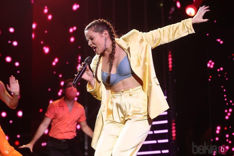 Eva en la gala 10 de 'OT 2020'