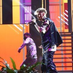 Hugo en la gala 10 de 'OT 2020'