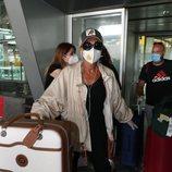 Ana María Aldón llegando de Honduras tras 'SV 2020'