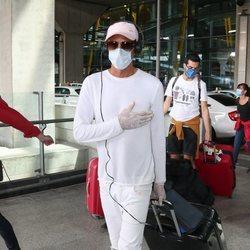 Hugo Sierra a su llegada de Honduras tras 'SV 2020'