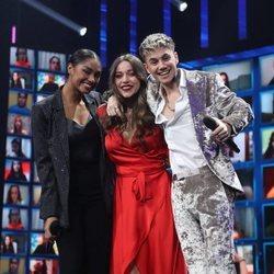 Nia, Eva y Hugo, tres primeros finalistas de 'OT 2020'