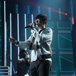 Flavio cantando 'Calma' en la gala 11 de 'OT 2020'