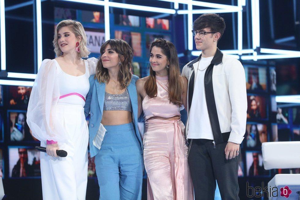 Samantha, Maialen, Anaju y Flavio, nominados de la gala 11 de 'OT 2020'