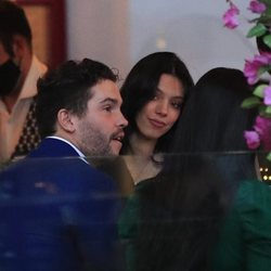 Alejandra Rubio y Tassio de la Vega durante una noche con amigos