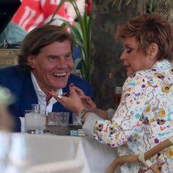 Terelu Campos tiene una cita con Tito Pajares en Madrid