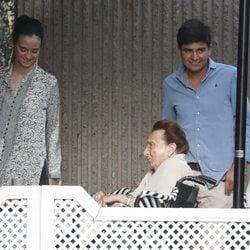 La Infanta Margarita y Victoria Federica en un almuerzo en Madrid