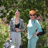 Alejandra Rubio y Terelu Campos en casa de María Teresa Campos por su 79 cumpleaños