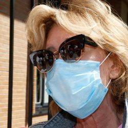 Mila Ximénez tras anunciar que padece cáncer de pulmón