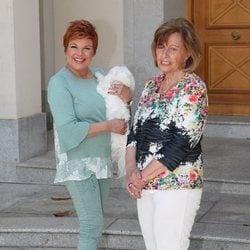 María Teresa Campos y Terelu Campos tras celebrar el 79 cumpleaños de la presentadora