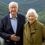 Alberto y Paola de Bélgica en Bouillon