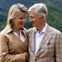 Felipe y Matilde de Bélgica, muy cómplices en Bouillon