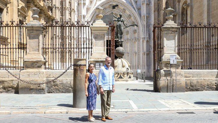 Los Reyes Felipe y Letizia en la Catedral de Sevilla
