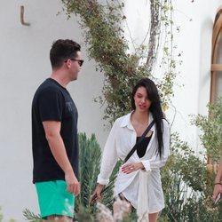 Alejandra Rubio y Tassio de la Vega de vacaciones en Ibiza
