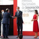 Los Reyes Felipe y Letizia en Valencia en los Premios Nacionales de Innovación y Diseño 2019