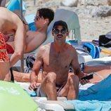 José Bono Junior de vacaciones en Ibiza