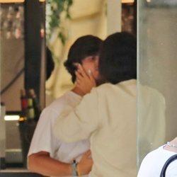 Victoria Federica besando a Jorge Bárcenas en Madrid