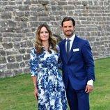 Carlos Felipe y Sofia de Suecia en el 43 cumpleaños de Victoria de Suecia