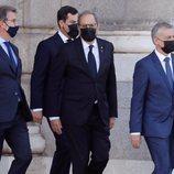 Quim Torra, Núñez Feijoo y demás dirigentes en el homenaje de Estado por las víctimas del coronavirus