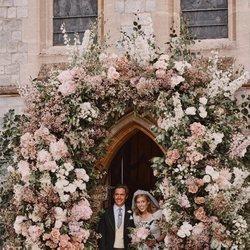 Beatriz de York y Edoardo Mapelli Mozzi en su boda