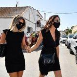 Paz Padilla y Anna Ferrer llegan al entierro de Juan Vidal