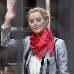 Amber Heard llega a una nueva jornada de juicio contra Johnny Depp