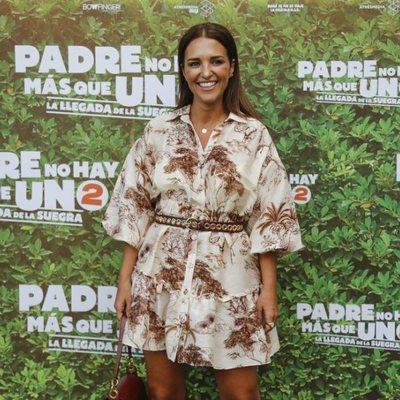 Paula Echevarría en el estreno de 'Padre no hay más que uno 2'