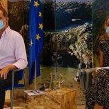 Los Reyes Felipe y Letizia visitan Asturias en su gira por España tras el final del estado de alarma