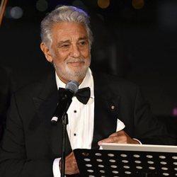 Plácido Domingo en la entrega del Premio Austriaco de Teatro Musical 2020