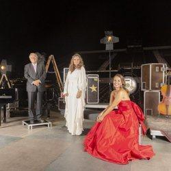 Paula Echevarría junto a otros invitados en el festival Starlite de Marbella 2020
