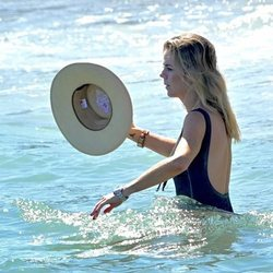 Amelia Bono disfrutando de sus vacaciones de verano en Marbella