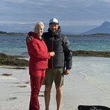 Haakon y Mette-Marit de Noruega en Svellingsflaket