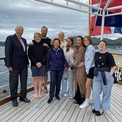 La Familia Real Noruega de vacaciones en Lofoten