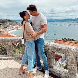 Diego Matamoros y Carla Barber disfrutando de sus vacaciones en el norte de España