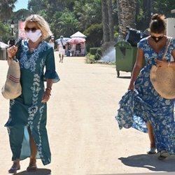 Eugenia Martínez de Irujo y Tana Rivera de vacaciones en Marbella