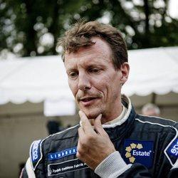 Joaquín de Dinamarca en el Copenhague Historic Grand Prix