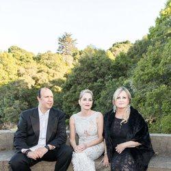 Sharon Stone con su hermana Kelly en un evento familiar