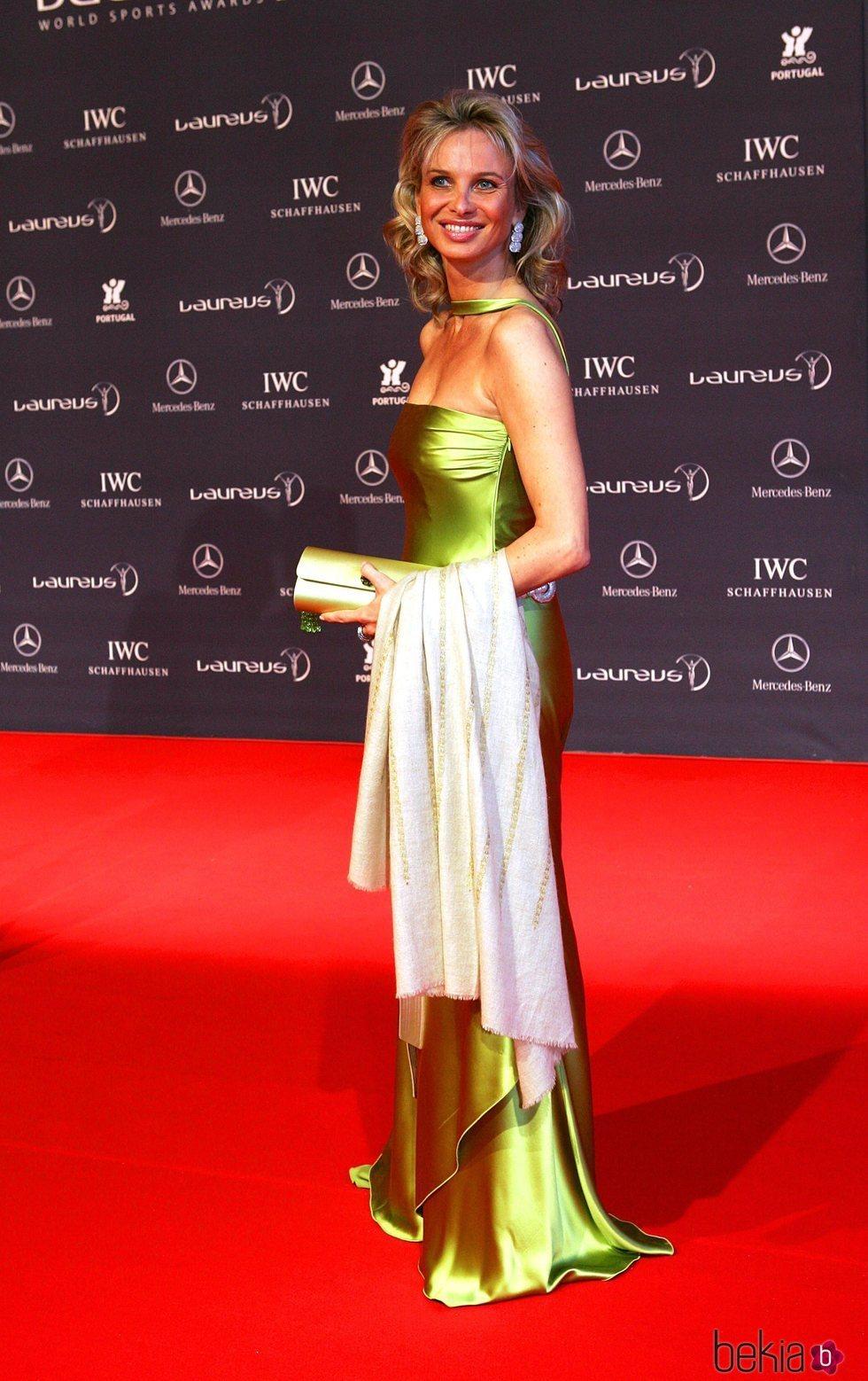 Corinna en los Laureus 2005