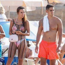 Fani y Christofer de vacaciones en Ibiza