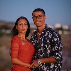 Cristiano Ronaldo y Georgina Rodríguez durante sus vacaciones de verano 2020
