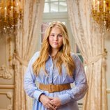 La Princesa Amalia de Holanda en su posado de verano 2020
